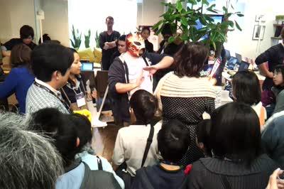 Hackasaurus Plus Scratch at Tokyo Japan