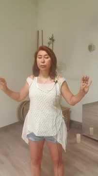 Atmung in Qigong mit Elena