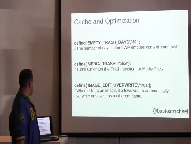 Michael Bastos: Implementing WordPress Constants
