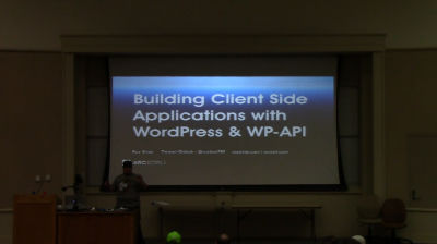 Roy Sivan: Building Client Side Web App Using WP-API