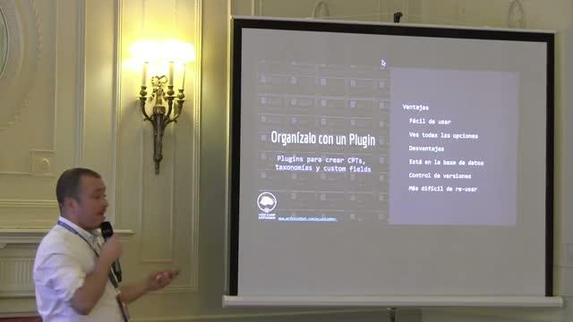 Alvaro Gómez: Gestion de informacion con WordPress para no programadores