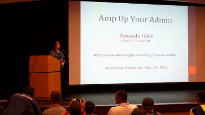 Amanda Giles: Amp Up Your Admin