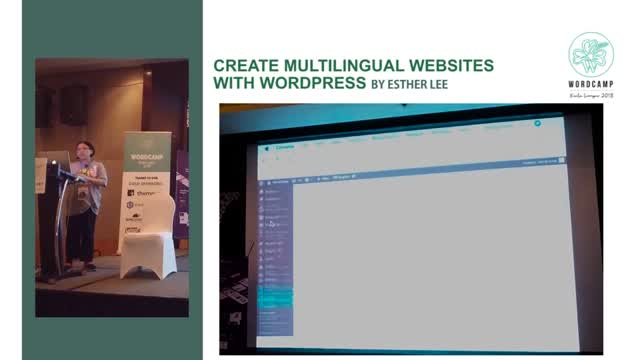 Esther Lee: Create multilingual websites with WordPress