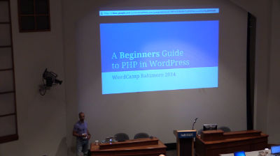 Zane Matthew: A Beginners Guide to PHP in WordPress