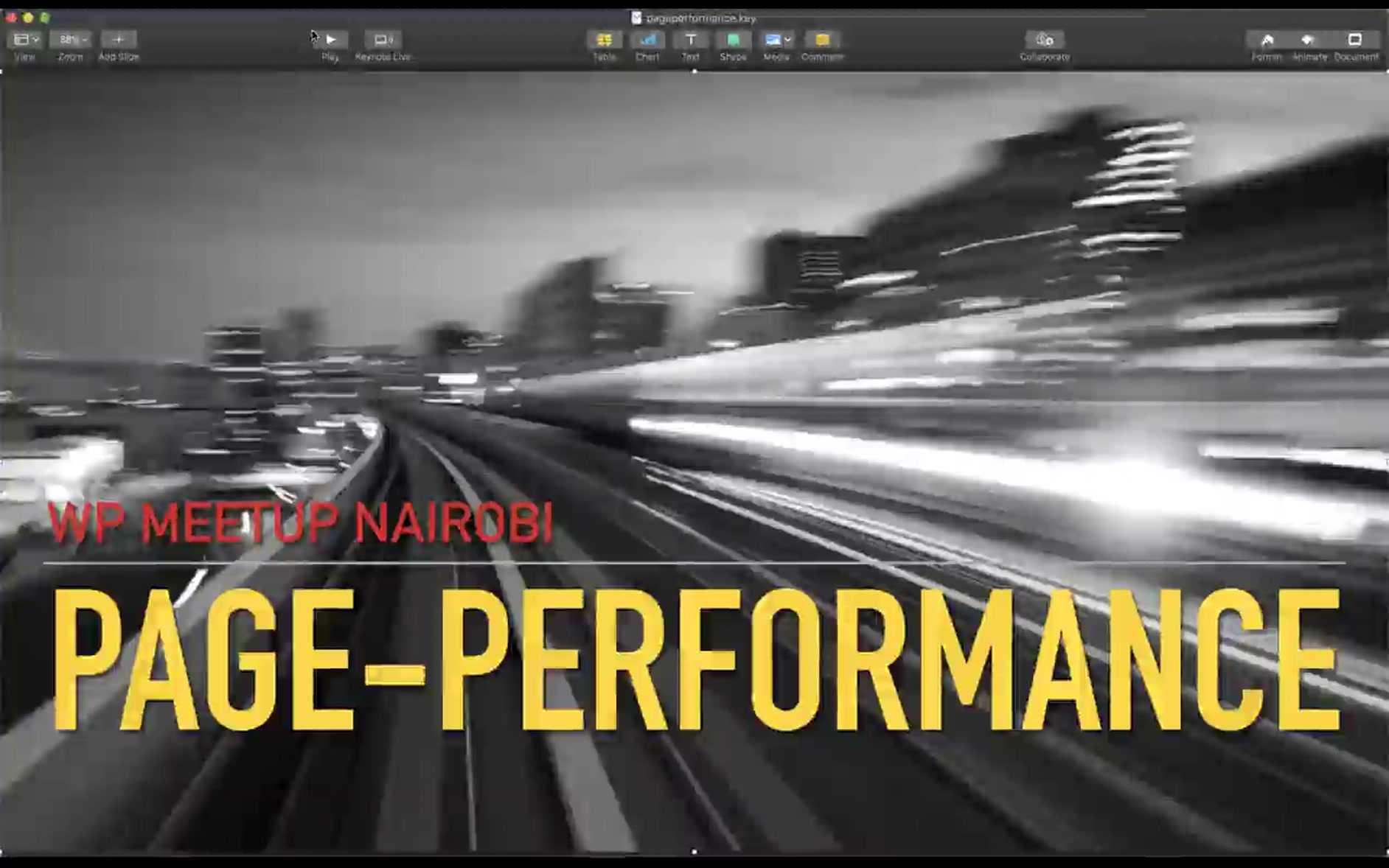Stefan Kremer: Page Performance
