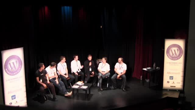 WordCamp Paris 2011 : Table ronde finale