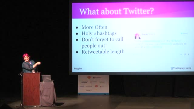 Stacey Harris: Hit Publish, Now What? How To Promote Your Content Through Social Media