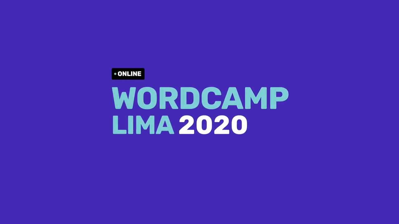 WordCamp Lima 2020: Clausura