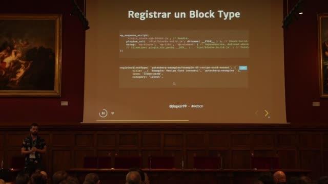 Javier López del Río: Cómo funciona Gutenberg - Breve introducción a la programación reactiva y más