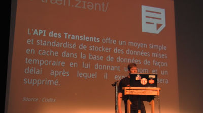 Julio Potier : Les données transitoires vous veulent du bien