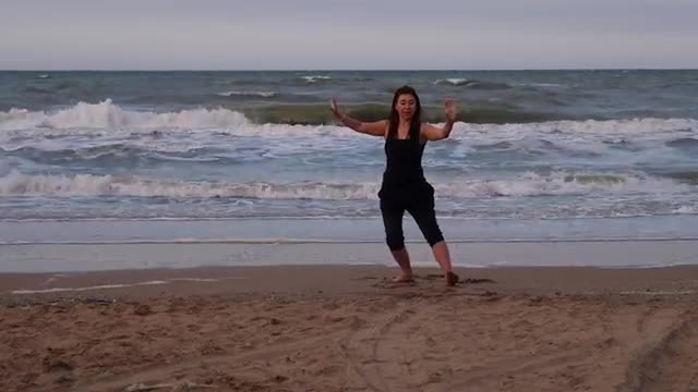 Tai Chi Peking Form (24 Bewegngen) mit Elena Gulina