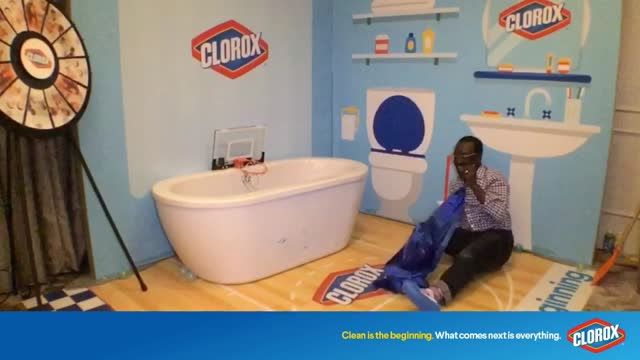 The Life and Times of Casey Palmer — The Road to Dad 2.0 and BEYOND. — Casey at the Clorox Booth