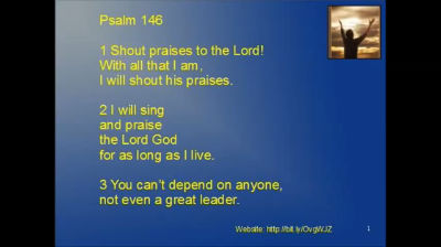 Psalm 146 – Shout Praises To The Lord Christian Prayers To Pray podcast