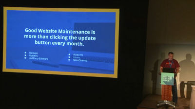 Brian Murphy: Maintaining WordPress Websites
