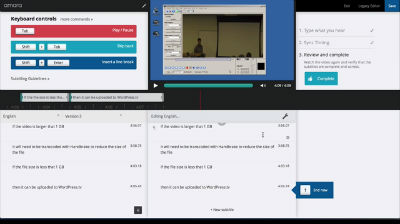 How to add subtitles and translations to WordPress.tv