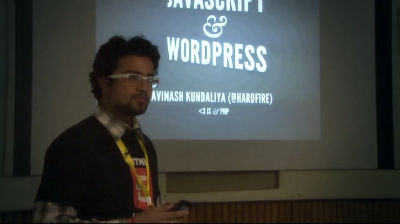 Avinash Kundaliya: JavaScript & WordPress