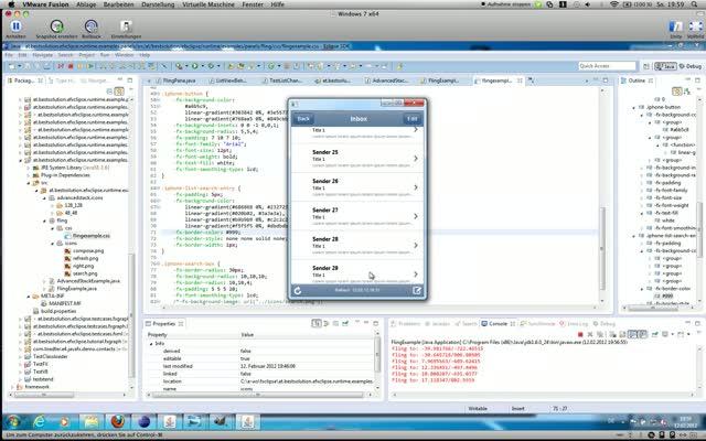Javafx Scrollbar