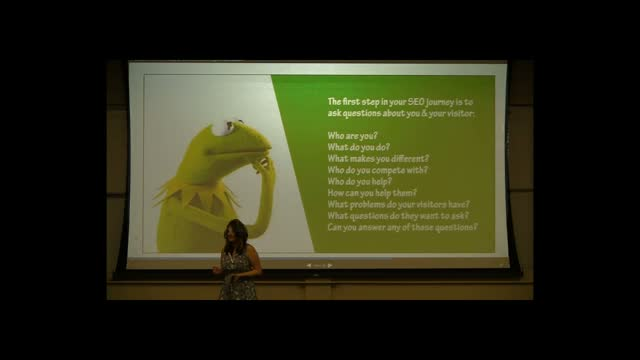Rebecca Gill: Taking SEO Beyond the Green Dot