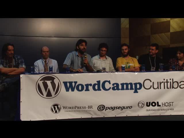WordCamp Curitiba 2010: Cerimônia de Abertura - Palavra dos Organizadores