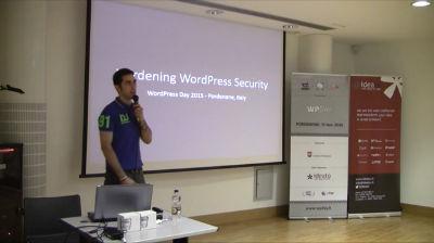 Mattia Piovano: WordPress Hardening v4