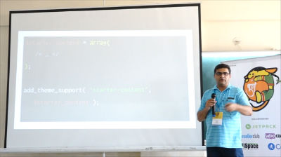 Jitesh Patil: Adding starter content to themes with WordPress 4.7