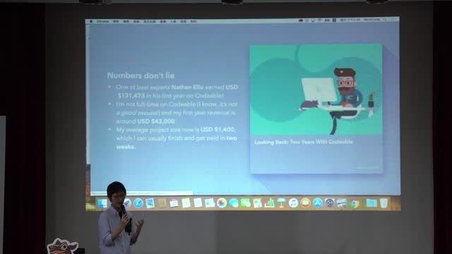 張幼人 / Yoren Chang: Going Global with Your WordPress Skills / 精鍊 WordPress 打開全球市場