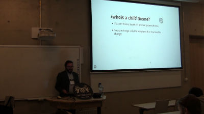 Arunas Liuiza: WordPress child themes