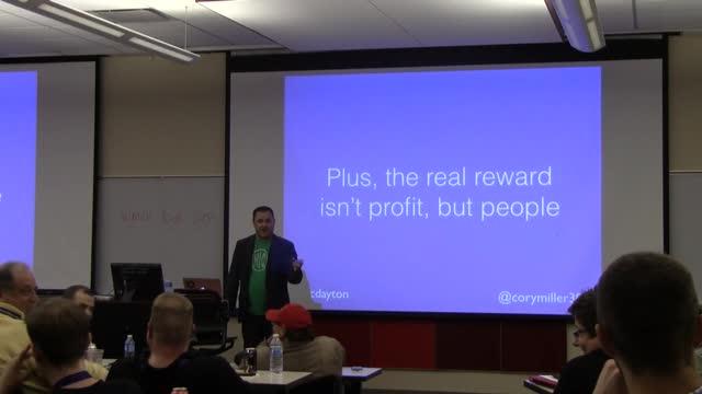 Cory Miller: WordCamp Dayton Keynote