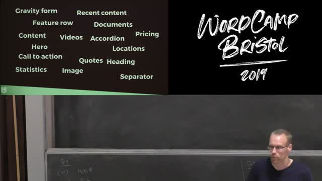 Mark Wilkinson: Build blocks without writing JavaScript