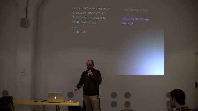 Alessandro Poletto: E dopo? Servizi e business conseguenti/successivi alla pubblicazione di un progetto web