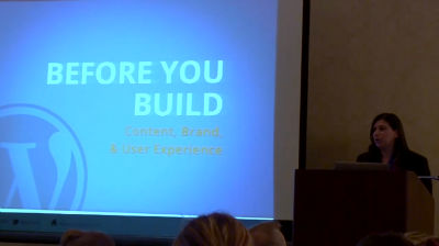 Betsy Cohen: Before You Build: Content, Brand And UX Strategy
