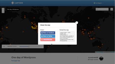 Santiago Giraldo: Embedding maps from CartoDB