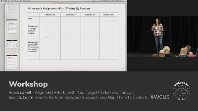 Rebecca Gill: Align SEO Efforts with Your Target Market and Today's Search - Part 2