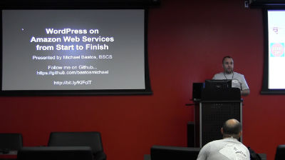 Michael Bastos: WordPress on Amazon Web Services from Start to Finish