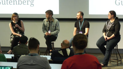 Robert Anderson, Cath Hughes, Dee Teal, Luke Carbis: Panel - Gutenberg and General Q&A