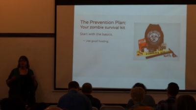 Kate Newbill: In Case of Zombies… Creating a Disaster Action Plan *Before* You Need It