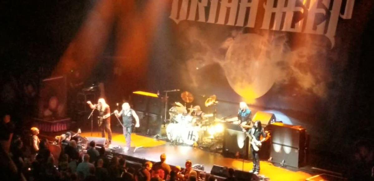Judas Priest and Uriah Heep in Rosemont, Illinois 5/25/19
