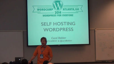 Carel Bekker: Introduction To Self-hosting WordPress