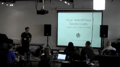 Paul Clark: How WordPress Saves Lives - Freedom, Hope and Custom Post Types