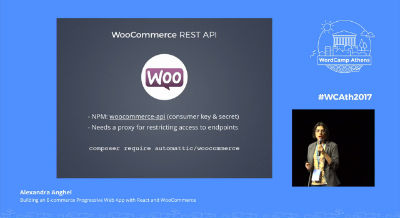 Alexandra Anghel: Building an E-commerce Progressive Web App with React and WooCommerce