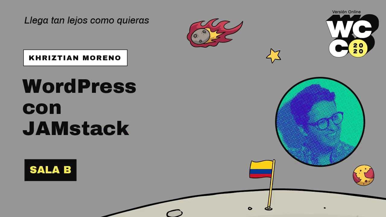 Cristian Moreno: JAMstack con WordPress