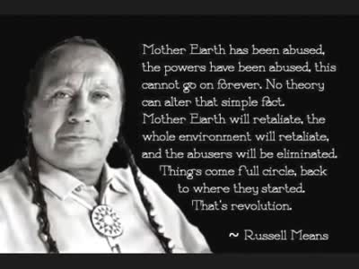 Celebrate Russell Means R.I.P Spirit Warrior (1939 -2012)