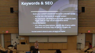 Laura Hawkins: Tips for Creating Effective Site and Blog Content