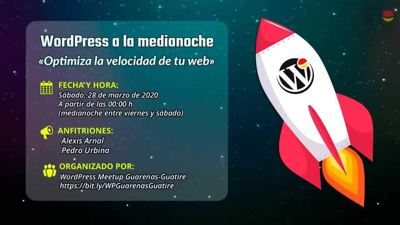 Alexis Arnal y Pedro Urbina: Optimiza la velocidad de tu web