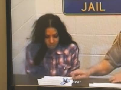 Buckwild Salwa Amin arraignment video from drug arrest