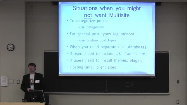Craig Taylor: Intro to WordPress Multisite