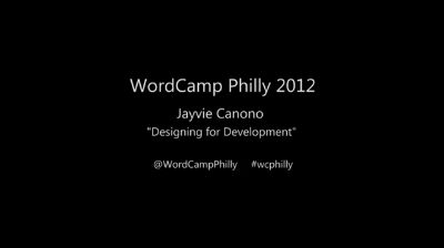 Jayvie Canono: Designing for Development