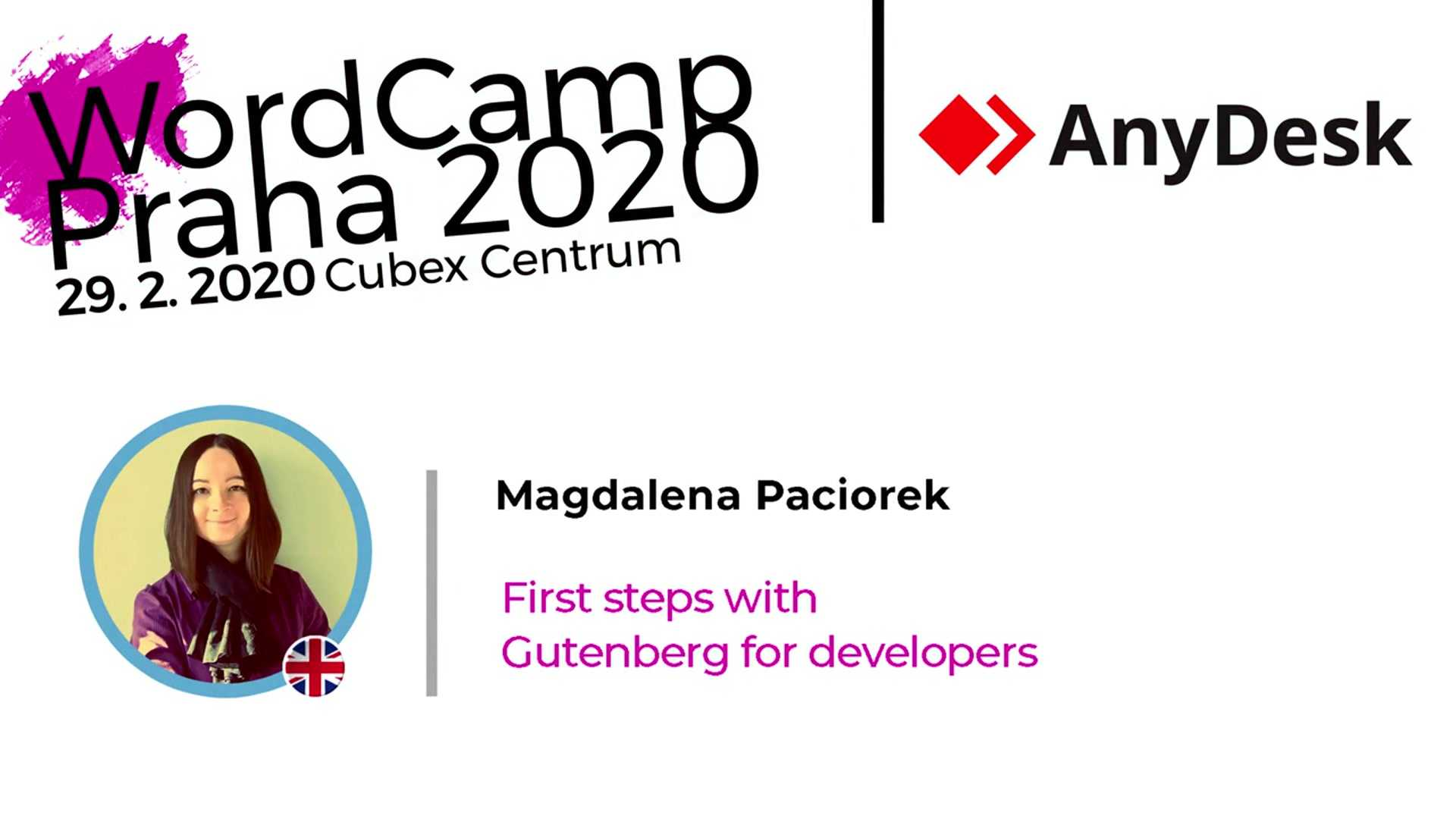 Magdalena Paciorek: First Steps With Gutenberg For Developers