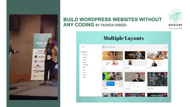 Tashfia Fareed: Build WordPress websites without any coding