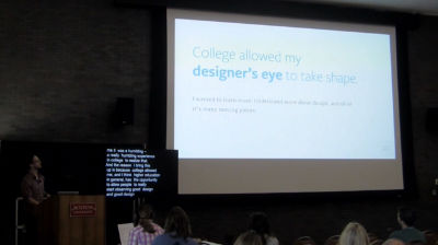 Travis Totz: Designing For Integrated Experiences Across Campus